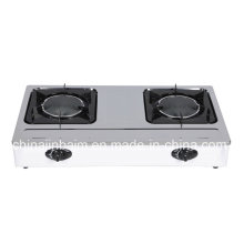 2 Burner Stainless Steel 150 Indrared Gas Cooker