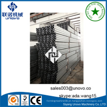 Fábrica de perfis sigma de aço de armazenamento industrial