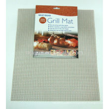 Non Stick Grill Mat for BBQ or Oven - cooks & crisps food evenly