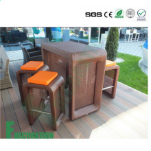 Tablero al aire libre vendedor caliente del Decking de WPC del precio bajo de alta calidad