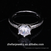 Großhandel Schmuck liefert China Ehering Frauen Zubehör cz Ring