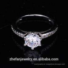 atacado suprimentos de jóias china anel de casamento mulheres acessórios cz anel