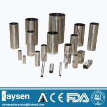 SS304 Aços inoxidáveis para tubos sem costura sanitários