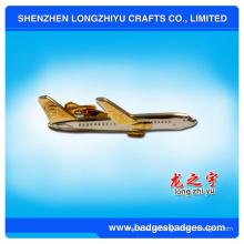 OEM/обслуживание ODM изготовленный на заказ Серебряный самолетик галстук бар / галстук булавка / зажим связи металла