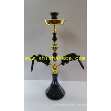 Colorful High Quality Zinc Alloy Nargile Smoking Pipe Shisha Hookah