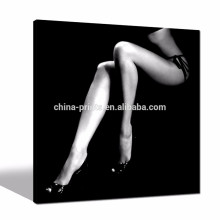 Black and White Sexy Women Legs Poster/Wall Decoration Abstract Paintings/Dropship Canvas Artwork