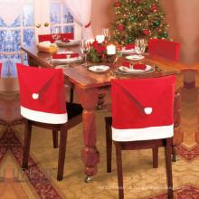 """4pcs uma casa de Natal conjunto 20 """"capas de cadeira de chapéu de santa (c-3)"""