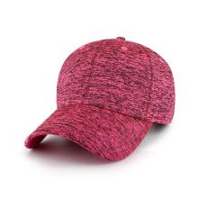 Sombrero en blanco de tejido de jersey jaspeado