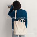 Логос напечатанный многоразовый мешок tote холстины для женщин