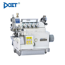 DT5114EXT-03/333 Máquina de costura de overlock de alta velocidade de leito do cilindro de alimentação diferencial superior e inferior