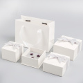 Caja de regalo Propose Wedding Ring White Jewelry