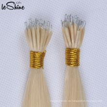 Nuevo anillo nano de extensión de cabello con queratina / extensión de cabello con punta de plástico