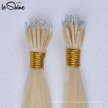 Nouvelle Kératine Extension De Cheveux Nano Anneau / En Plastique Bâton Extension De Cheveux