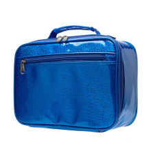 Colorful laser PU Lunch Food Cooler Bag Insulated Thermal PEVA Lining lunch bag