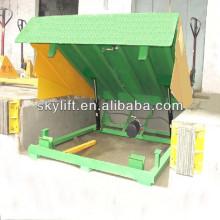 Almacén de carga grande nivelador de muelle de carga y rampa de muelle