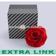 2016 neue design geschenk blume box luxus runde hut blume verpackung box
