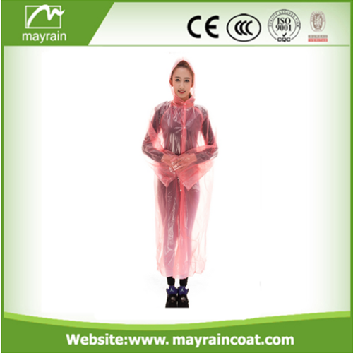 Disposable Transparent Raincoat