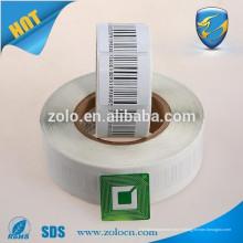 Impression personnalisée système de suivi GPS eas sticker autocollant barcode rf