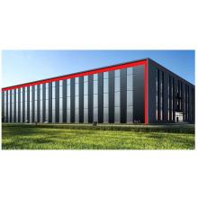Light Metal Building Steel Structure Prefab House Hospital