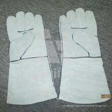 Full Palm Leder Grad a / Ab / Bc Schweißschutzhandschuh