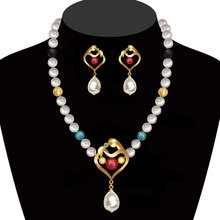 2018 New Design Pearl Necklace Set
