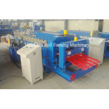 12 Row Trapezoidal Roofing Tile Making Machine Corrugated Sheet Roll Forming Machine