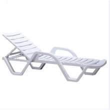 Outdoor plastic sun lounger swimming pool chair beach patio lounge beach chairs