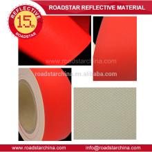 Alta calidad colores reflectante PVC de cuero