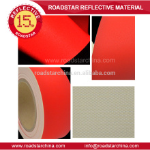 Couro de PVC refletivo colorido de alta qualidade