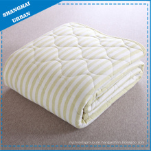 Single Cotton Bettwäsche Quilt Streifen Decke