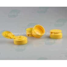 Plastic Flip Top tampa da válvula de silicone para Squeezable Honey Bottle (PPC-PSVC-003)