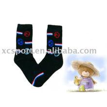 Moda algodão crianças meias
