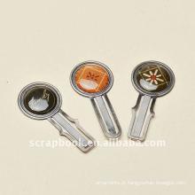 restaurar o metal clipes clipes metálicos scrapbook artesanato