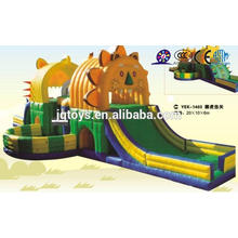 JQ-YEK1403 China Soft Indoor Entertainment liger slide house Playground for Kids