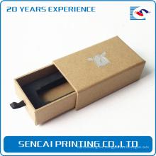 Caja de empaquetado impresa barata impresa lujo del cajón del papel de los productos electrónicos de Alibaba Trade Assurance