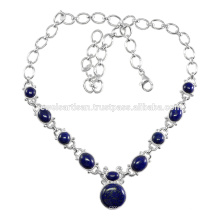 Lapis Gemstone 925 Sterling Silver Necklace Jewelry