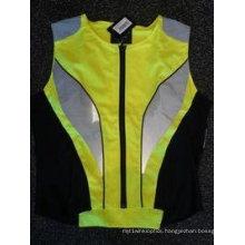 2016 New Design Hi-VI Reflective Safety Vest with Zipper