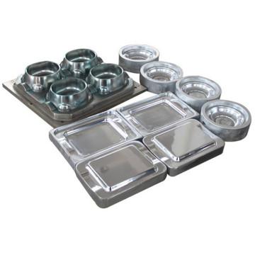 Moules de compression de vaisselle de mélamine en acier (MJ-003)