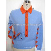 suéter de cachemira de los hombres