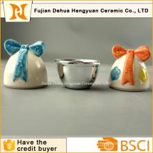 Keramische Ostereier Form Kleine Süßigkeiten Jar für Ostern Geschenk