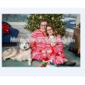 2017 горячая распродажа семья комплект одежды 100% хлопок соответствия семейные рождественские пижамы в размер для взрослых