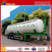 60m3 ciment Bulker / semi-remorque de camion-citerne de ciment en vrac (PLY9560GFL)