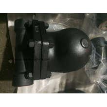 Trampa de vapor de flotador de bola con extremo de brida de acero fundido FT44