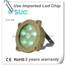Professional   IP68 LED Brass Underwater Light