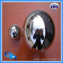 Hollow stainless steel ball