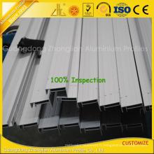 Extrusions en aluminium anodisées de haute qualité pour le cadre de panneau solaire