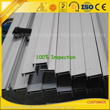 Extrusões de alumínio anodizado de alta qualidade para o quadro de painel solar