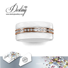 Destiny Jewellery Crystals From Swarovski 3 Laps Ring