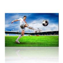 Mundial de impresión de lienzo de la lona de arte / cartel de la lona de la estrella del fútbol / hombres hermosos imagen de la pared