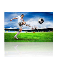 World Cup Canvas Printing Art / Football Star Canvas Poster / Handsome Men Wall Picture